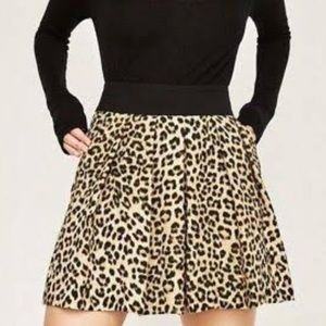 Zara Animal Print Shorts